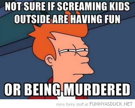 fry futurama meme screaming kids having fun being murdered funny pics pictures pic picture image photo images photos lol
