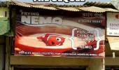 finding frying nemo restaurant sign cafe bar sequel wasn't as popular kids funny pics pictures pic picture image photo images photos lol