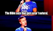 russell howard stand up tv gays not natural talking snake is funny pics pictures pic picture image photo images photos lol