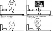 going bed rage comic suddenly nothing life sad boring funny pics pictures pic picture image photo images photos lol