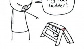 hate you not real step ladder comic funny pics pictures pic picture image photo images photos lol