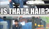 keanu reeves eating bench actor movie is that hair funny pics pictures pic picture image photo images photos lol