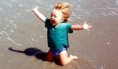 kid baby boy beach sand water bring it on life funny pics pictures pic picture image photo images photos lol