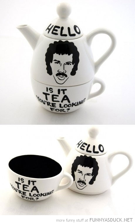lionel richie tea pot hello me looking for funny pics pictures pic picture image photo images photos lol