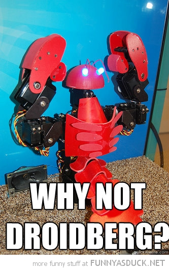 robot lobster zoidberg futurama why not droidberg tv funny pics pictures pic picture image photo images photos lol