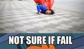 man superman costume falling fry futurama not sure fail or holding earth meme funny pics pictures pic picture image photo images photos lol