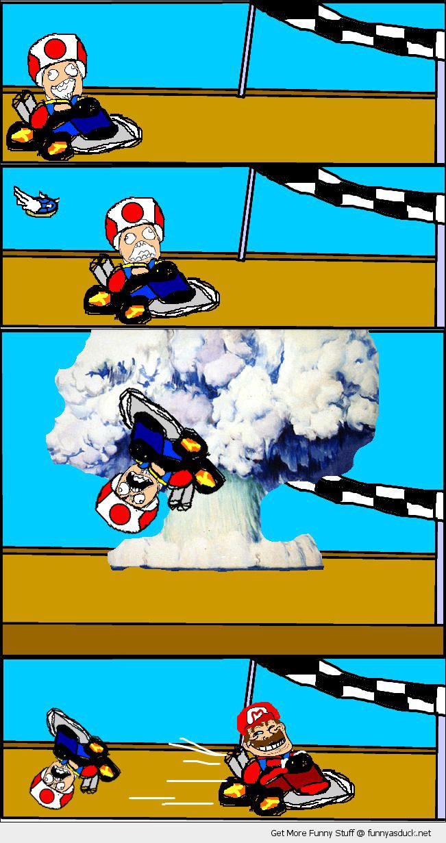 Blue Shell Rage