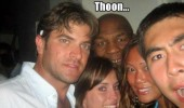 mike tyson photo bomb thoon soon boxing sport group funny pics pictures pic picture image photo images photos lol