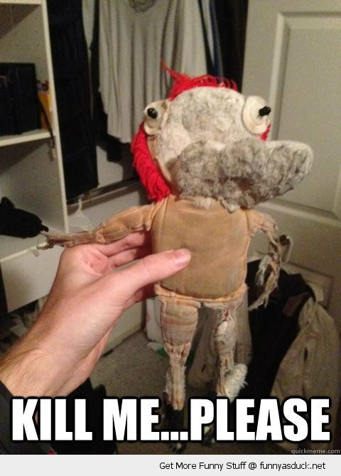 raggedy ann doll old worn ripped sad kill me please funny pics pictures pic picture image photo images photos lol