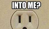 shocked surprised power socket plug stick that into me face funny pics pictures pic picture image photo images photos lol
