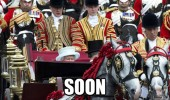 queen england Britain horse carriage soon funny pics pictures pic picture image photo images photos lol