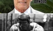 schwarzenegger old young arnold arnyoung movies films actor funny pics pictures pic picture image photo images photos lol