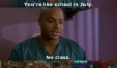 scrubs tv scene school july no class turk show funny pics pictures pic picture image photo images photos lol