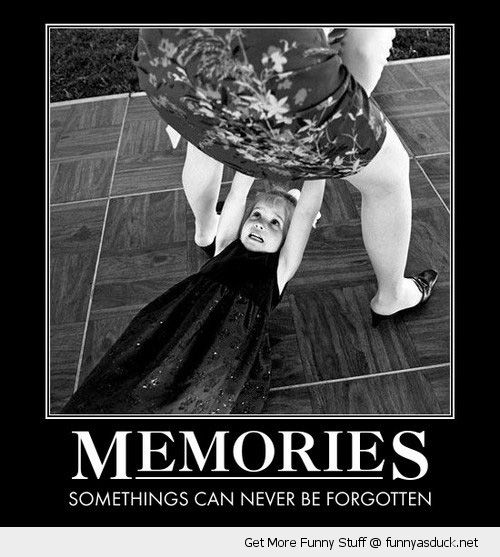 Girl Kid Look Woman Skirt Dress Memories Never Forgotten Funny