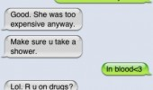 sms text iphone behaving killed babysitter meth hell of drug funny pics pictures pic picture image photo images photos lol