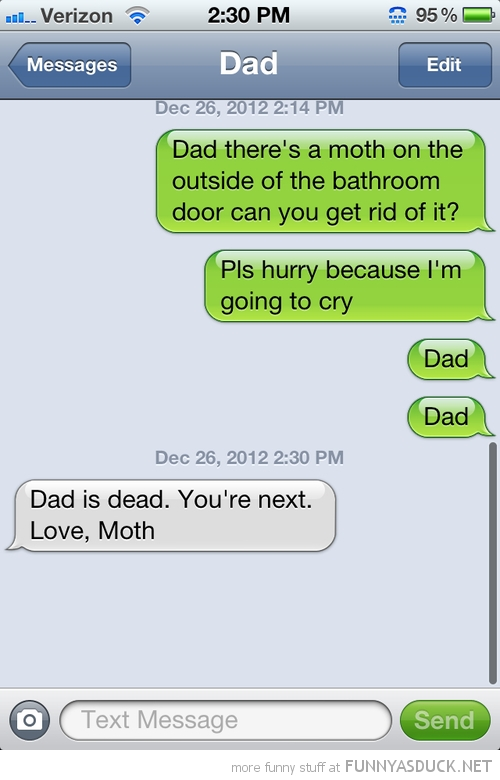 sms text iphone moth bathroom dads dead funny pics pictures pic picture image photo images photos lol