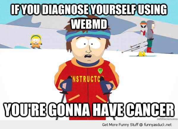 south park skier meme diagnose webmd gonna have cancer funny pics pictures pic picture image photo images photos lol
