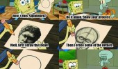 spongebob squarepants squiward tv scene perfect circle thingy nickelodeon funny pics pictures pic picture image photo images photos lol