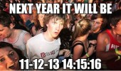 sudden clarity clarence meme next year 11 12 13 14 15 16 funny pics pictures pic picture image photo images photos lol