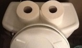 toilet bowl face roll i've seen some shit bathroom funny pics pictures pic picture image photo images photos lol