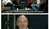 top gear tv scene patrick stewart Jeremy clarkson most famous guest terrible show funny pics pictures pic picture image photo images photos lol