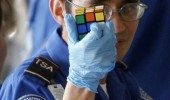 tsa officer rubix cube secrets weapon of terror funny pics pictures pic picture image photo images photos lol