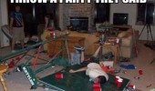 wreaked house mess have party they said fun funny pics pictures pic picture image photo images photos lol