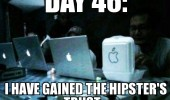 fast food box apple logo fake day 46 gained hipsters trust funny pics pictures pic picture image photo images photos lol