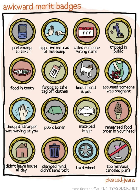 awkward merit badges comic pleated jeans funny pics pictures pic picture image photo images photos lol