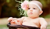 baby girl basket kid don't always lounge headband funny pics pictures pic picture image photo images photos lol
