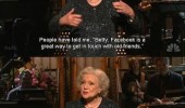 betty white facebook great way keep touch friends my age ouija board tv stand up funny pics pictures pic picture image photo images photos lol