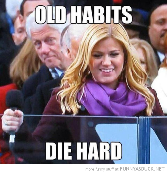 bill clinton staring ass old habits obama president inauguration funny pics pictures pic picture image photo images photos lol