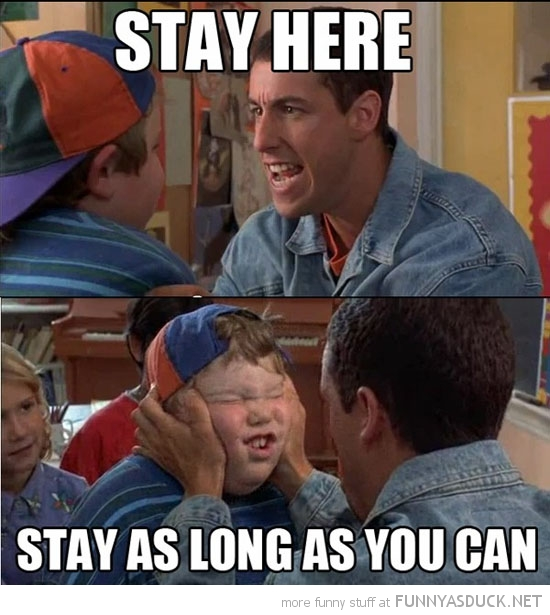 billy madison movie scene stay here school boy kid adam sandler funny pics pictures pic picture image photo images photos lol