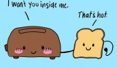 bread toaster comic inside me hot funny pics pictures pic picture image photo images photos lol