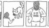 burglar i love heart dogs t-shirt comic funny pics pictures pic picture image photo images photos lol