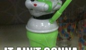 buzz lightyear toy story cup straw ain't gonna suck itself funny pics pictures pic picture image photo images photos lol