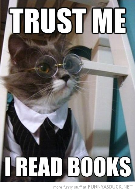 cat lolcat animal glasses harry potter trust me read books funny pics pictures pic picture image photo images photos lol