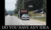 cop police stop dunkin donuts truck lorry any idea why pulled over funny pics pictures pic picture image photo images photos lol