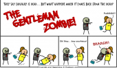 cyanide happiness comic gentleman zombie funny pics pictures pic picture image photo images photos lol