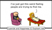 cyanide happiness comic god jesus people looking for me funny pics pictures pic picture image photo images photos lol