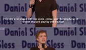 daniel sloss stand up comedy like penis gay vagina funny pics pictures pic picture image photo images photos lol