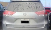 dirty car win y u no wash meme rage comic funny pics pictures pic picture image photo images photos lol