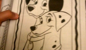 disney 101 dalmations easiest coloring book ever funny pics pictures pic picture image photo images photos lol