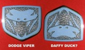 dodge viper logo daffy duck lookalike car funny pics pictures pic picture image photo images photos lol
