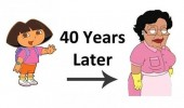 dora explorer 40 years later mexican cleaning lady consuela family guy funny pics pictures pic picture image photo images photos lol