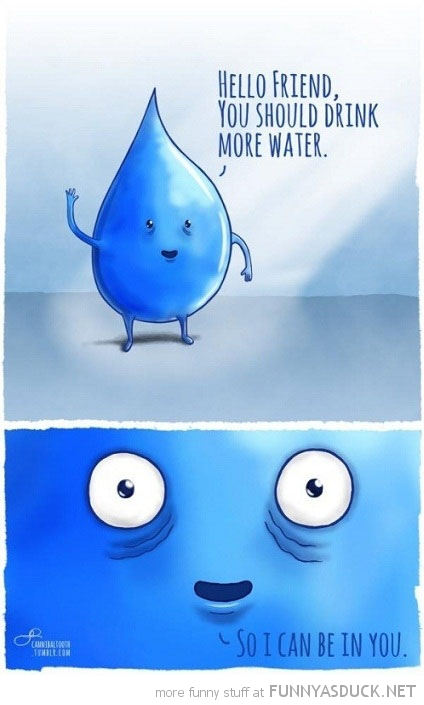 drink more water comic inside you funny pics pictures pic picture image photo images photos lol