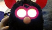 evil furby toy glowing eyes thought we were gone just waiting funny pics pictures pic picture image photo images photos lol