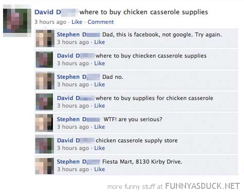 facebook status dad not google comment funny pics pictures pic picture image photo images photos lol