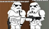family guy storm trooper star wars hit bird once tv scene funny pics pictures pic picture image photo images photos lol