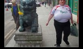 fat ugly woman liverpool shirt football soccer europe funny pics pictures pic picture image photo images photos lol